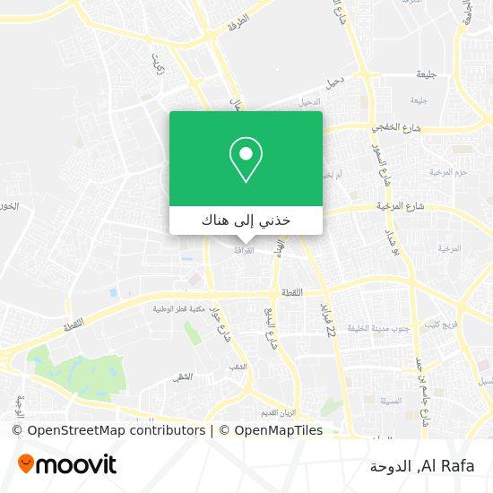 خريطة Al Rafa