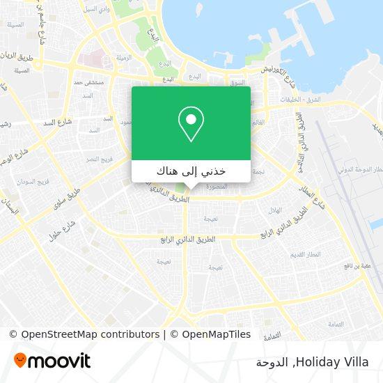 خريطة Holiday Villa