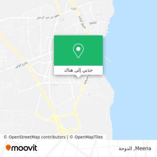خريطة Meena