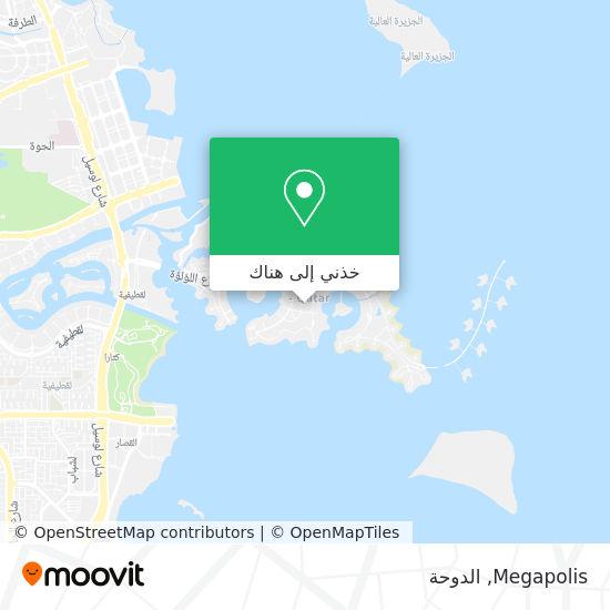 خريطة Megapolis