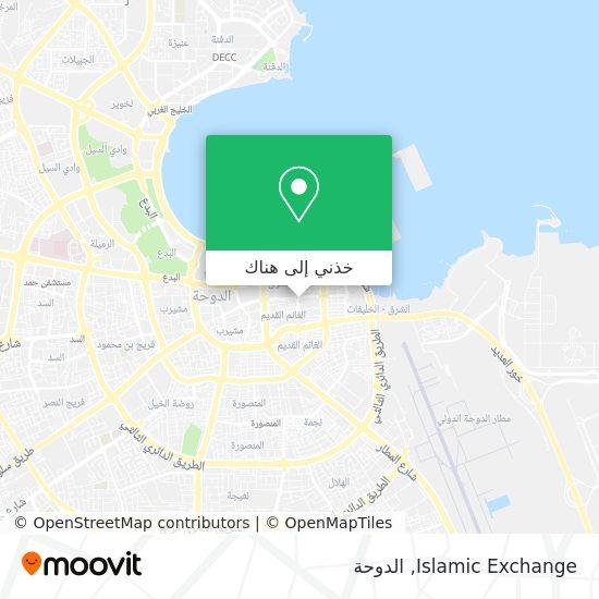 خريطة Islamic Exchange