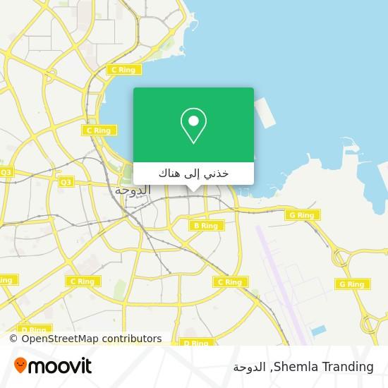 خريطة Shemla Tranding