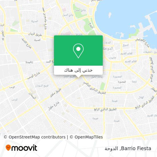 خريطة Barrio Fiesta