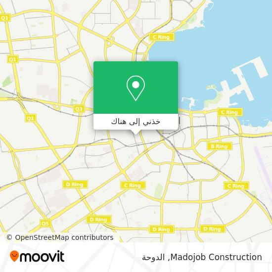 خريطة Madojob Construction