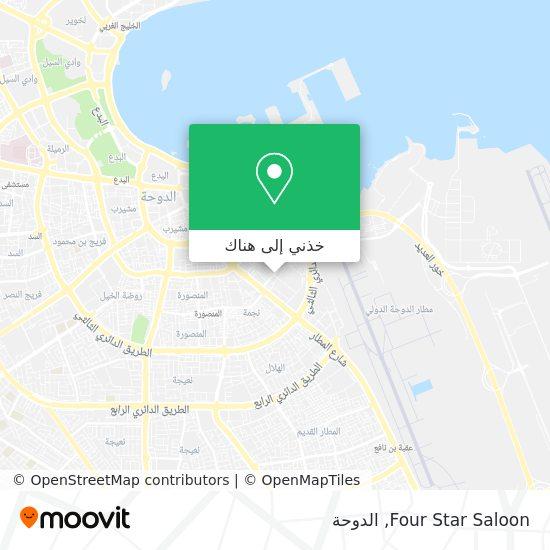 خريطة Four Star Saloon