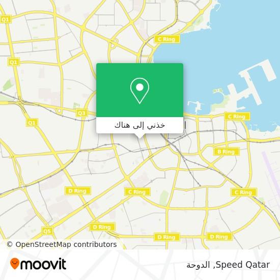 خريطة Speed Qatar