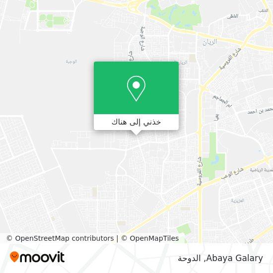 خريطة Abaya Galary
