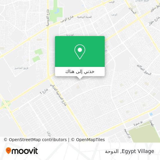 خريطة Egypt Village