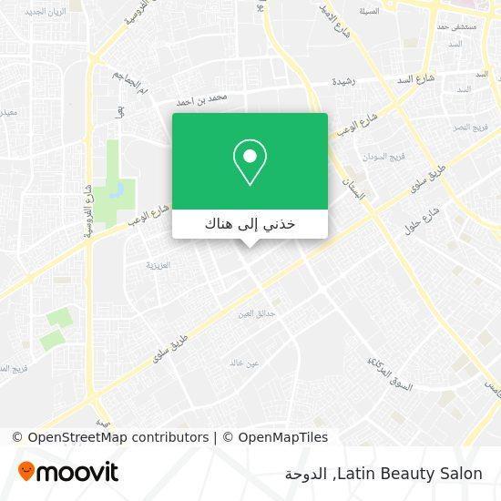 خريطة Latin Beauty Salon