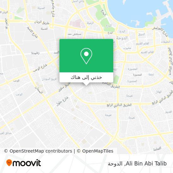 خريطة Ali Bin Abi Talib