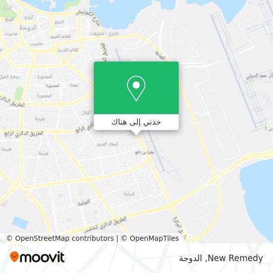 خريطة New Remedy