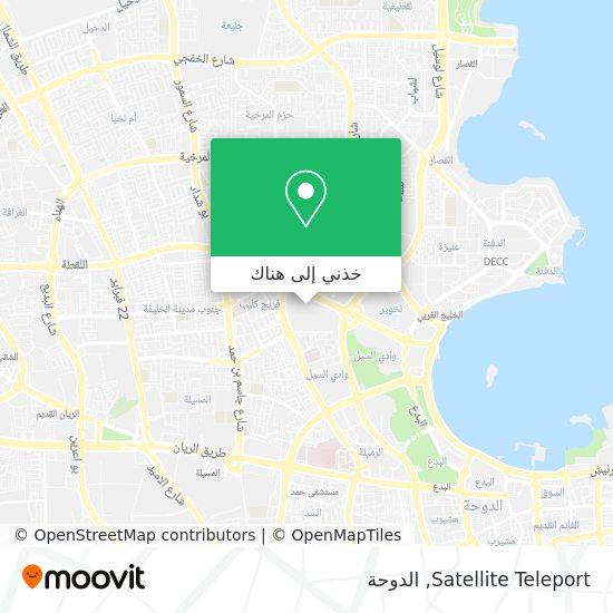 خريطة Satellite Teleport