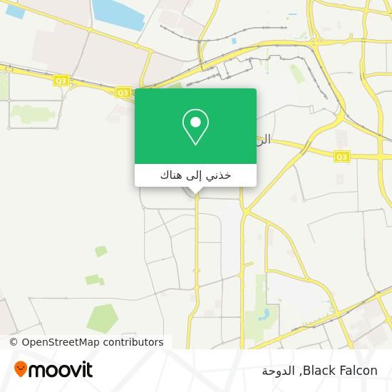 خريطة Black Falcon