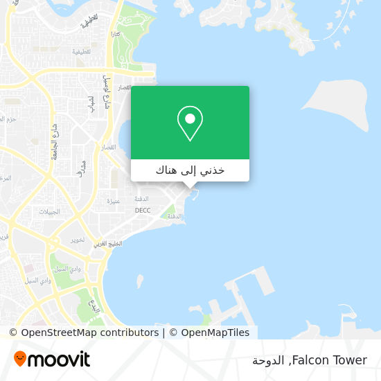 خريطة Falcon Tower