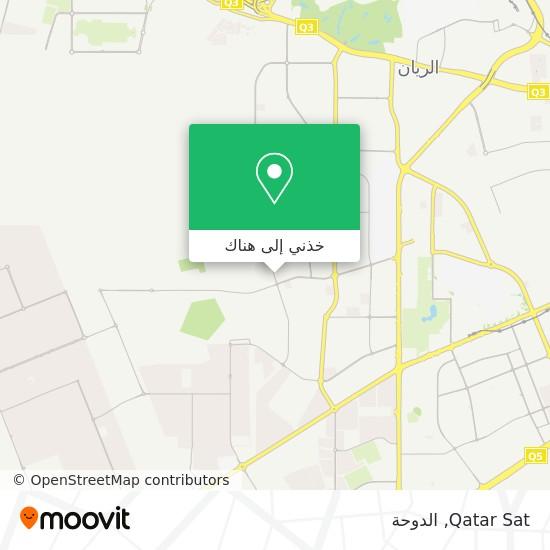خريطة Qatar Sat