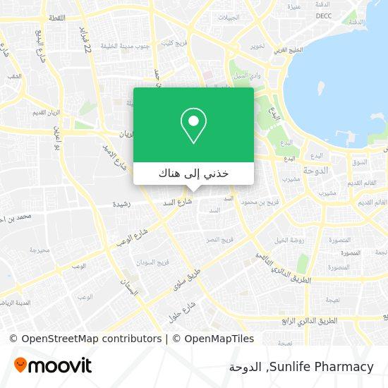 خريطة Sunlife Pharmacy
