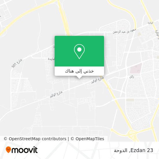 خريطة Ezdan 23