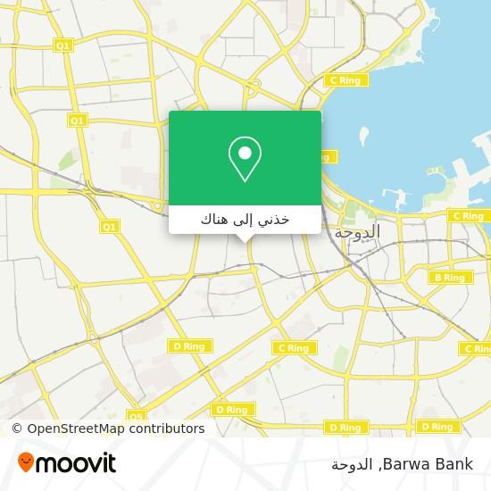 خريطة Barwa Bank