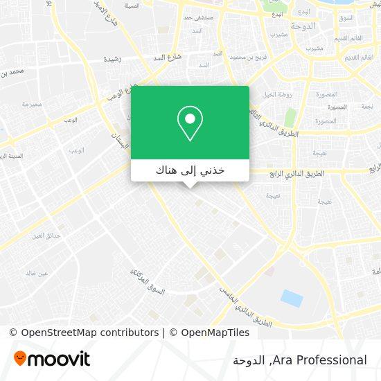 خريطة Ara Professional
