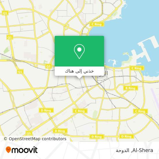 خريطة Al-Shera