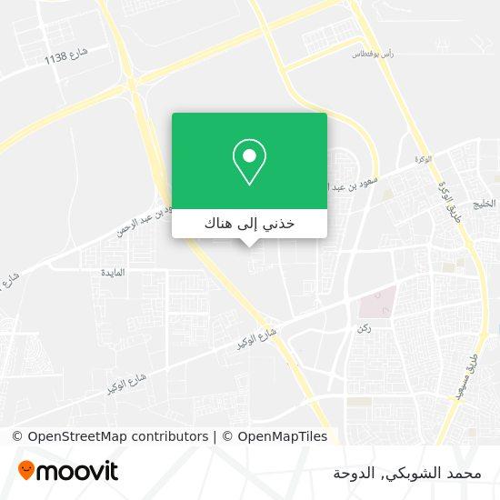 خريطة محمد الشوبكي