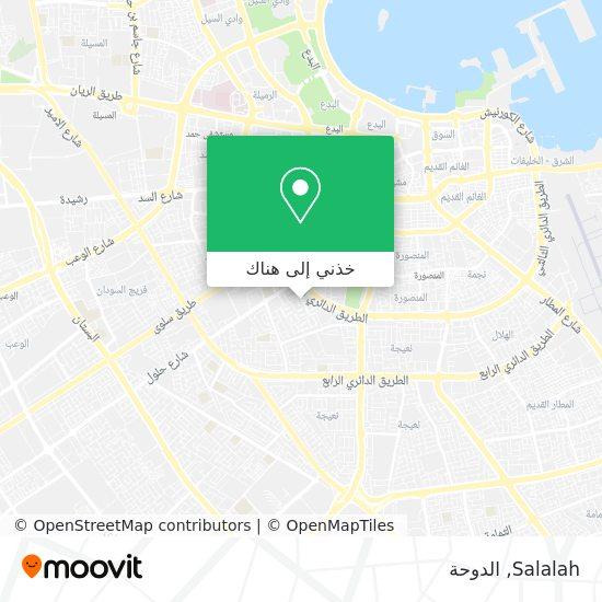 خريطة Salalah