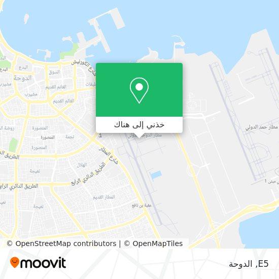 خريطة E5