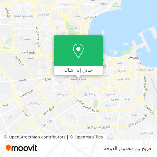 خريطة فريج بن محمود