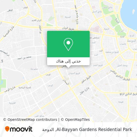 خريطة Al-Bayyan Gardens Residential Park