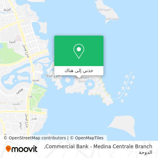 خريطة Commercial Bank