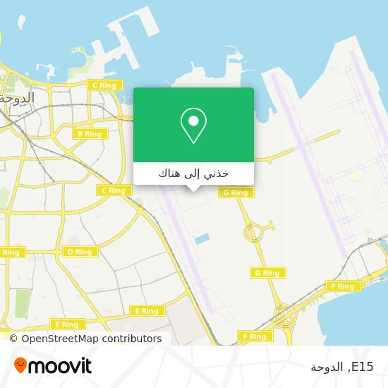 خريطة E15