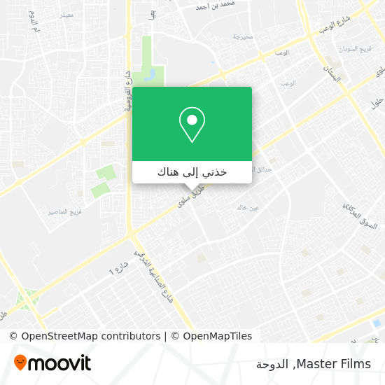 خريطة Master Films