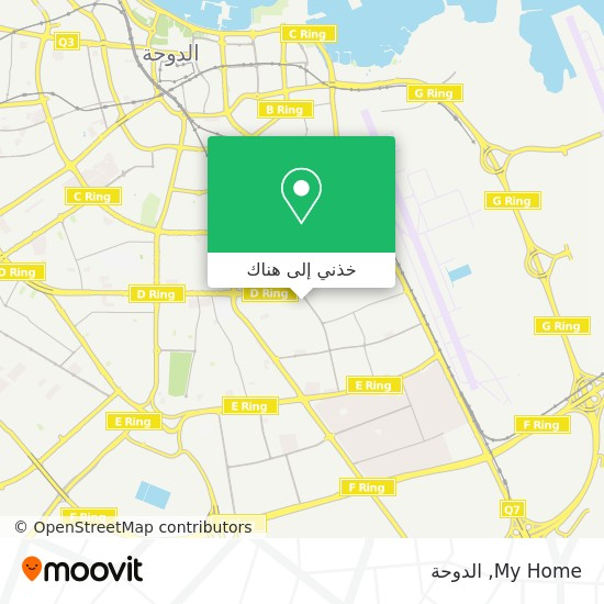 خريطة My Home