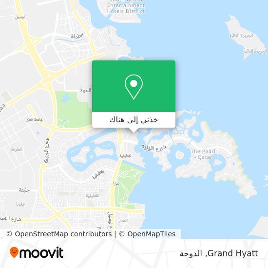 خريطة Grand Hyatt