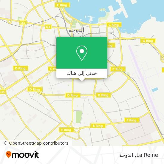 خريطة La Reine