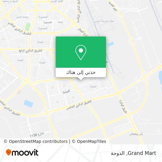 خريطة Grand Mart