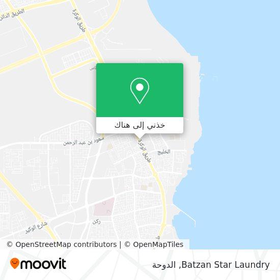 خريطة Batzan Star Laundry