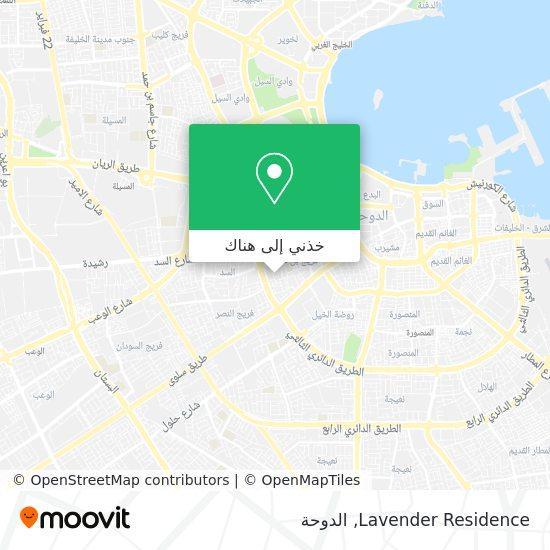 خريطة Lavender Residence