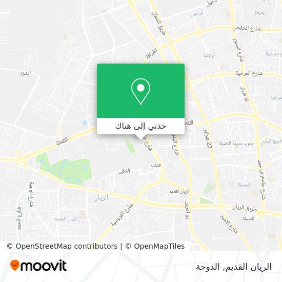 خريطة Old Al Rayyan (52)