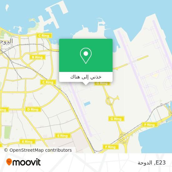 خريطة E23