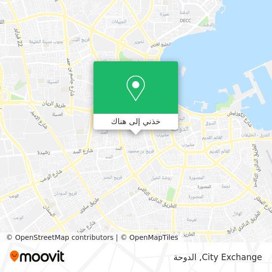 خريطة City Exchange