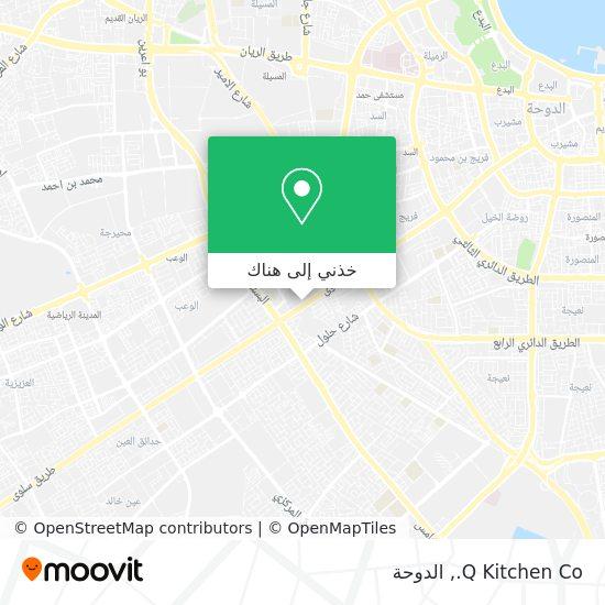 خريطة Q Kitchen Co.