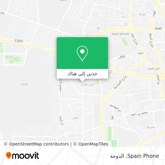 خريطة Spain Phone