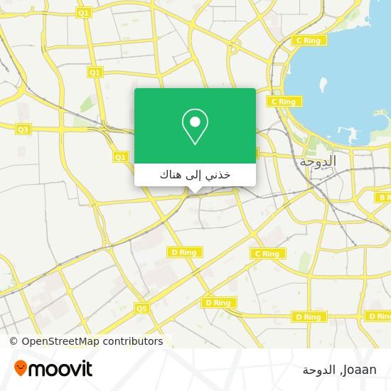 خريطة Joaan