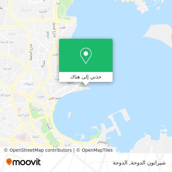 خريطة Sheraton