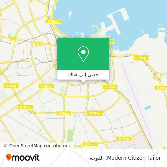 خريطة Modern Citizen Tailor