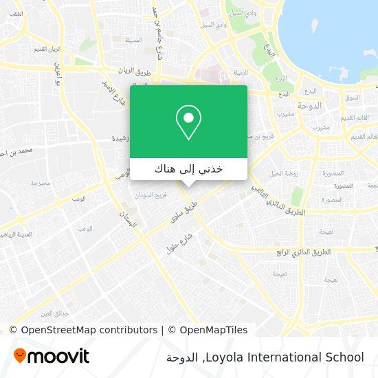 خريطة Loyola International School