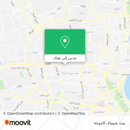 خريطة بيت شيماء