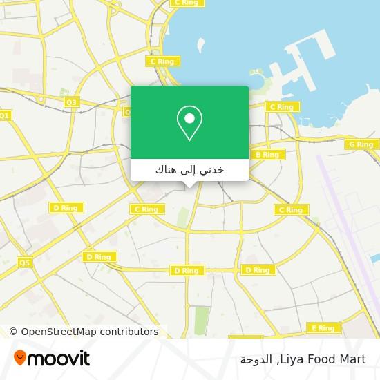 خريطة Liya Food Mart