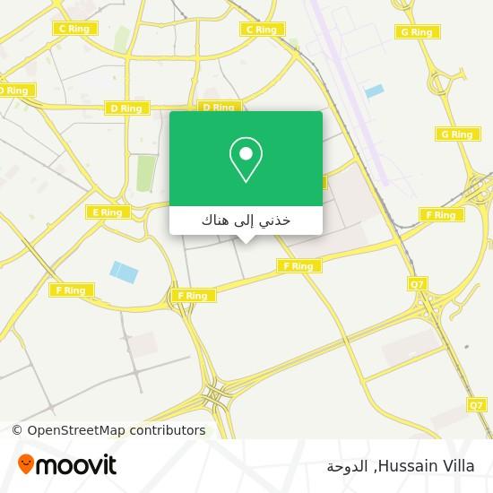 خريطة Hussain Villa